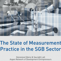 The State of Measurement Practice in the SGB Sector